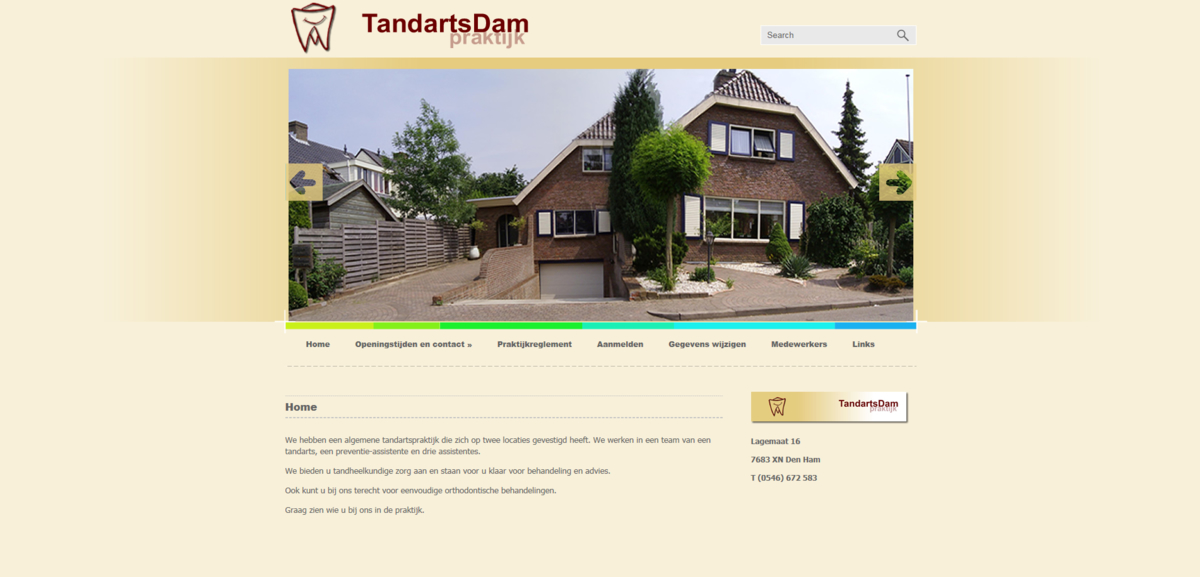 Tandarts Johan Dam